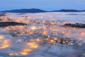 Khoảnh khắc Đà Lạt chìm trong sương tuyệt đẹp khiến ta muốn tới ngay lập tức