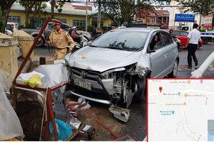 Đà Lạt: Ô tô gây tai nạn liên hoàn húc văng cháu bé 11 tuổi trên vỉa hè