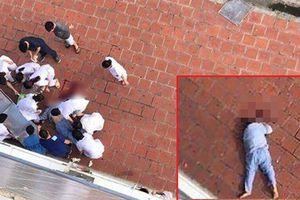 Nam bệnh nhân bất ngờ nhảy từ tầng 6 bệnh viện Đức Giang xuống đất tử vong