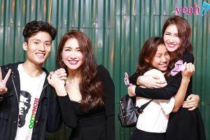 Hòa Minzy đăng loạt ảnh thân thiết ôm hôn fan sau khi bị chỉ trích vì thái độ lạnh lùng như siêu sao nổi tiếng