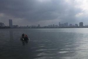 Tìm thấy thi thể người đàn ông mất tích ở Hồ Tây