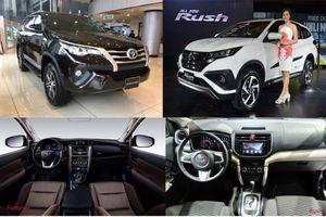 Toyota Rush – kẻ đến sau thách thức 'đàn anh' Fortuner