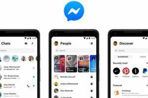Facebook thiết kế giao diện mới đơn giản cho Messenger