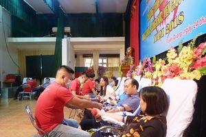 Tuyên Quang: Hiến máu tình nguyện vì sức khỏe cộng đồng