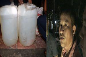 Thái Bình: Khởi tố đối tượng vận chuyển 48,3 lít ma túy đá dạng lỏng