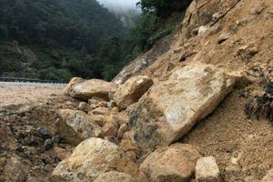 Nhanh chóng khắc phục sụt trượt tại đường đèo Nha Trang - Đà Lạt