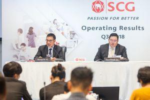 SCG công bố kết quả hoạt động kinh doanh quý 3 và 9 tháng đầu năm 2018