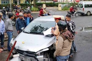 Người đàn ông lái xe 4 chỗ gây tai nạn liên hoàn tại TP Đà Lạt