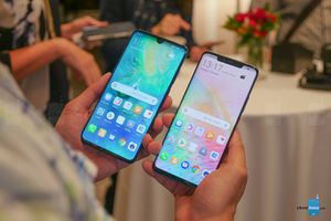Cận cảnh Huawei Mate 20 và Mate 20 Pro vừa ra mắt
