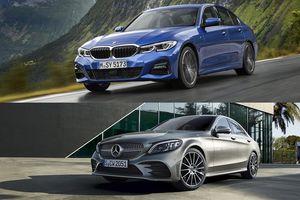 So sánh BMW 3 Series 2019 và Mercedes C-Class 2019