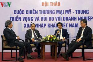 Nguy cơ đồ gỗ Trung Quốc gắn mác Việt Nam xuất khẩu sang Mỹ