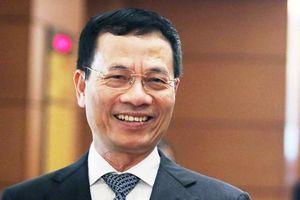 Quốc hội phê chuẩn ông Nguyễn Mạnh Hùng giữ chức Bộ trưởng Bộ Thông tin và Truyền thông
