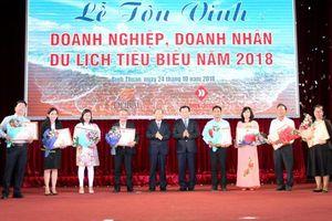 Bình Thuận tôn vinh doanh nghiệp, doanh nhân du lịch tiêu biểu 2018