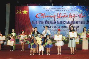 Chung khảo hội thi giai điệu tuổi hồng huyện Gia Lâm