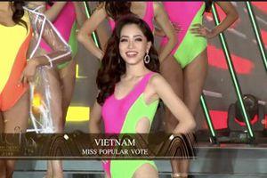 Á hậu Phương Nga vào thẳng top 10 Miss Grand International 2018