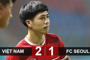 Đội tuyển Việt Nam: 'Ngược dòng' thắng Seoul FC