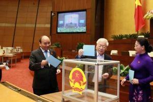 48 chức danh đã được Quốc hội bỏ phiếu kín lấy tín nhiệm