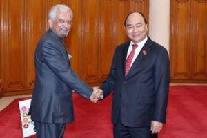 Thủ tướng Nguyễn Xuân Phúc tiếp các trưởng đại diện các tổ chức LHQ tại Việt Nam