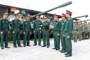 Kiểm tra huấn luyện, SSCĐ lực lượng tăng thiết giáp Quân đoàn 3