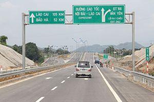 Đường tạm qua cầu Ngòi Thủ hỏng, cao tốc Nội Bài- Lào Cai cấm nhiều loại phương tiện