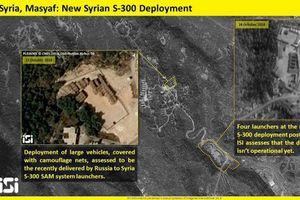 Công bố hình ảnh dàn 'rồng lửa' S-300 nằm 'phơi mình' trước vệ tinh của Israel