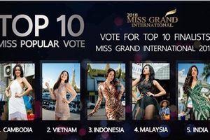 Lọt top 2 Miss Grand, dàn mỹ nhân Việt cổ vũ cho Phương Nga trước thềm chung kết