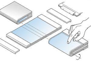 Samsung phát triển máy tính bảng có thể gập lại