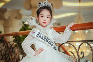 Người mẫu nhí Việt Nam đăng quang 'Little Miss Eurasia 2018'