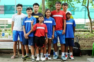 Quần vợt VN nở rộ đào tạo trẻ