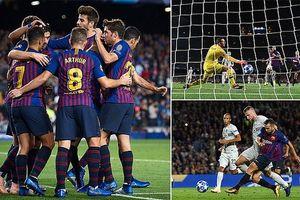 Không Messi, Barcelona vẫn dễ dàng hạ gục Inter Milan