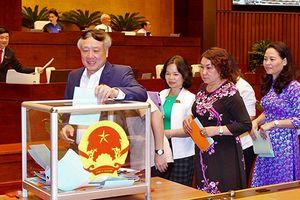 Bắt đầu bỏ phiếu tín nhiệm 48 người giữ chức danh do Quốc hội bầu hoặc phê chuẩn