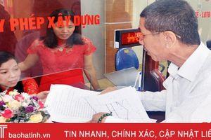 Trung tâm Hành chính công Hồng Lĩnh tiếp nhận, xử lý gần 19 ngàn hồ sơ