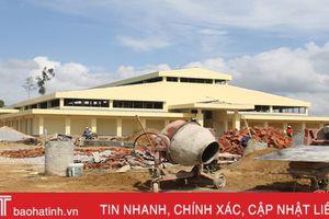 Hoàn thành 80% khối lượng công trình chợ huyện Hương Khê