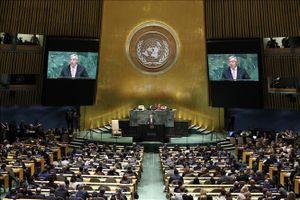 Thông điệp sẵn sàng vượt qua thách thức của Liên hợp quốc