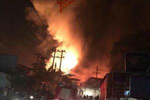 Đồng Nai: Cháy rụi hàng ngàn mét vuông nhà xưởng, thiệt hại hàng chục tỷ đồng