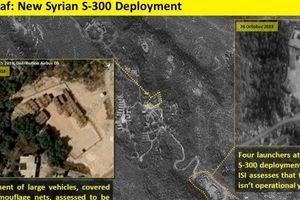 Vệ tinh Israel chụp lại hình ảnh S-300 của Nga nằm như 'sư tử rình mồi' ở miền Bắc Syria
