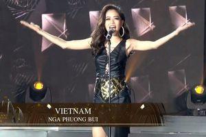 Á hậu Phương Nga lọt vào Top 10 Hoa hậu Hòa bình Quốc tế nhờ số phiếu bình chọn qua mạng