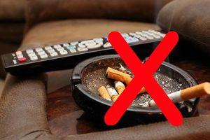 Cân nhắc hình ảnh khói thuốc