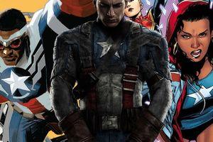 Sau Chris Evans, nhân vật Captain America kế tiếp có thể là người da đen hoặc phái nữ