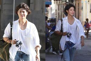 'Boyfriend' tập 1 và tập cuối: Park Bo Gum tung tăng 'chụp choẹt' và định mệnh gặp Song Hye Kyo ở Cuba