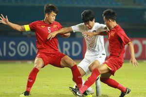 Thi đấu đầy quả cảm trước Hàn Quốc, U19 Việt Nam vẫn rời giải với vị trí bét bảng