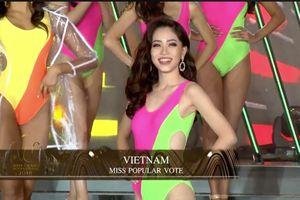Top 1 bình chọn, Phương Nga lọt khỏi top 20 Miss Grand International nhưng ngoạn mục đi thẳng vào top 10!