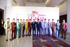 Các doanh nhân 'tỏa sáng' trong chương trình tuần lễ thời trang dấu ấn doanh nhân Việt Nam