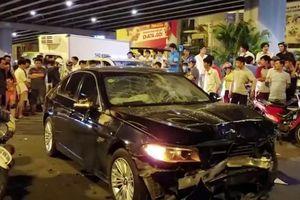 Vụ xe BMW gây tai nạn liên hoàn tại ngã tư Hàng Xanh: Giày cao gót hay men rượu bia?