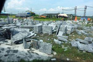 Hải Phòng: Cơ sở chế tác đá ven QL 10 ô nhiễm môi trường