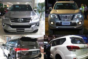 Nissan Terra lấy gì để đấu với 'thánh lật' Toyota Fortuner?
