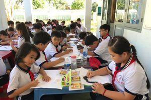 300 học sinh thi vẽ tranh bảo vệ môi trường