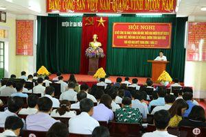 Huyện ủy Gia Viễn sơ kết công tác xây dựng Đảng 9 tháng năm 2018