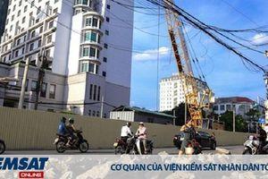 Hà Nội: Hiểm họa rình rập từ những công trường trên cao