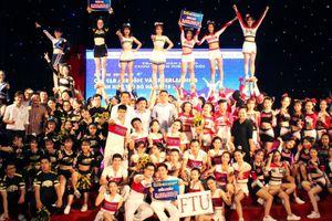 Tưng bừng liên hoan các CLB Aerobic và Cheerleading thanh niên Thủ đô 2018